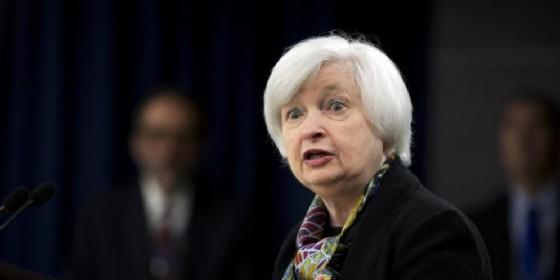 La presidente della Federal Reserve, Janet Yellen. (© ANSA)