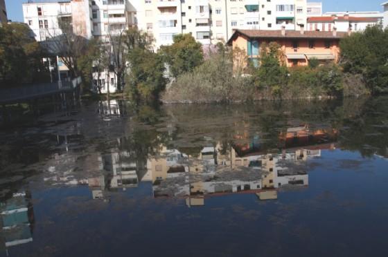 Laghetto di San Giorgio, inserito nel recupero urbanistico di Viale Marconi (© Comune di Pordenone)