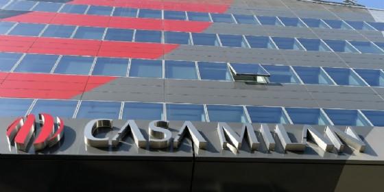 La sede di Casa Milan (© Ansa)
