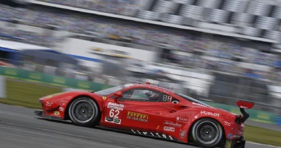 La Ferrari 488 Gte di Fisichella, Calado e Vilander