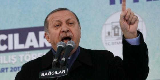 Il presidente turco, Tayyp Recep Erdogan. (© EPA / SEDAT SUNA)