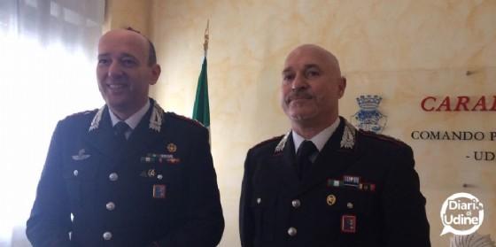 I carabinieri spiegano l'Operazione Solis (© Diario di Udine)