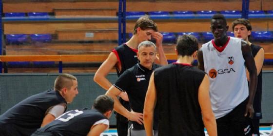 Uno degli ultimi allenamenti della Gsa (© Diario di Udine)