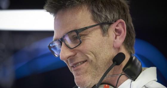 L'ex direttore tecnico Ferrari, oggi alla Mercedes, James Allison (© Mercedes)