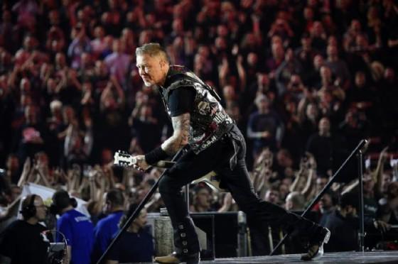 James Hetfield, frontman dei Metallica (© ANSA)
