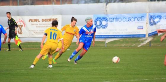 Elisa Camporese in azione (© Upc Tavagnacco)