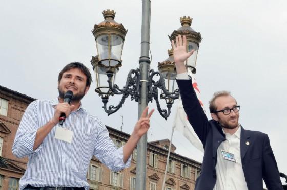 Alessandro Di Battista a Torino (© Alessandro Di Marco/Ansa)