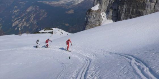 Scialpinisti in azione (© Sciapinismo)