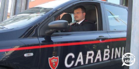 Intervento dei carabinieri di Buja (© Diario di Udine)