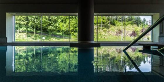 Una delle piscine interne di Arta Terme (© Arta Terme)