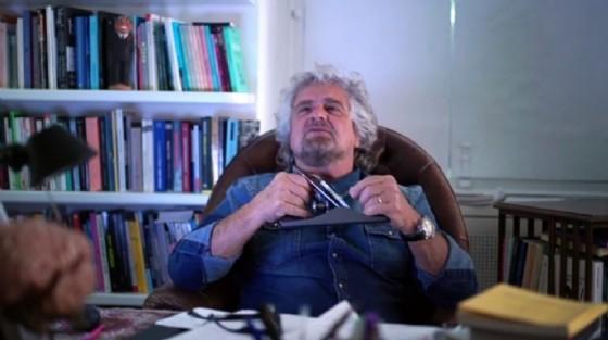 Il leader del M5s Beppe Grillo (© ANSA)