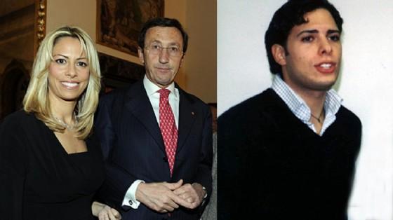 La procura di Roma ha ordinato l'arresto di Giancarlo Tulliani, cognato dell'ex presidente della Camera Gianfranco Fini nella foto in compagnia della moglie Elisabetta