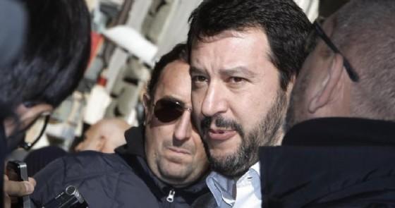 Matteo Salvini, leader della Lega (© ANSA)