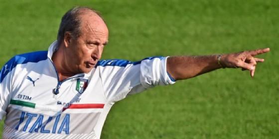 Il ct della nazionale italiana di calcio, Giampiero Ventura (© ANSA)