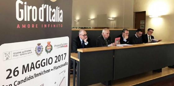 Presentate le tappe friulane del Giro d'Italia del centenario (© Regione Friuli Venezia Giulia)