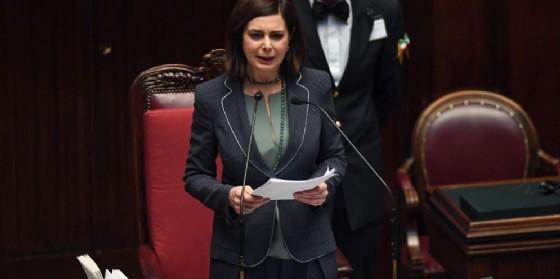 La presidente della Camera Laura Boldrini. (© ANSA/ ALESSANDRO DI MEO)