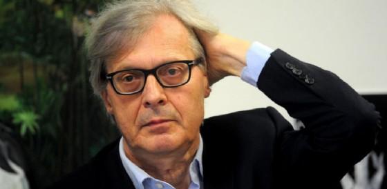 Vittorio Sgarbi. (© ANSA/STEFANO PORTA)