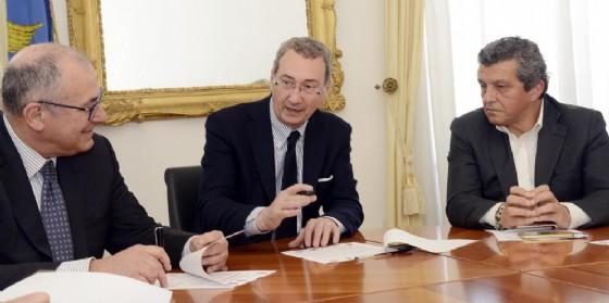 La stipula dell'accordo tra i 4 Comuni (© Regione Friuli Venezia Giulia)