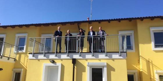 Le abitazioni consegnate a Manzano (© Regione Friuli Venezia Giulia)