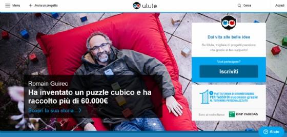 Il sito di Ulule