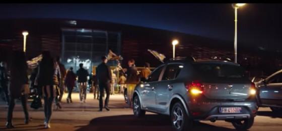 La fine dello spot Dacia (© Dacia)