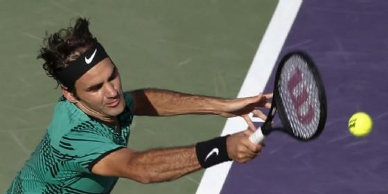 Roger Federer trionfa anche a Miami (© ANSA)