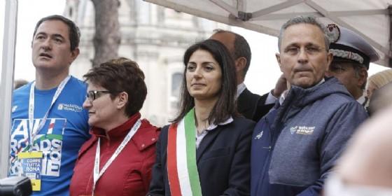 La sindaca di Roma Virginia Raggi (© Giuseppe Lami | ANSA)