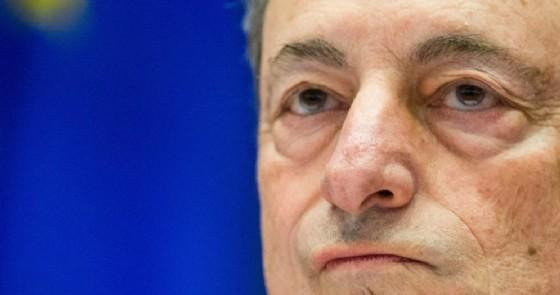 Il presidente della Bce, Mario Draghi. (© ANSA)