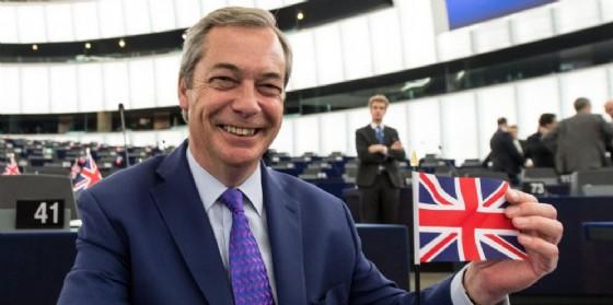 Nigel Farage. (© EPA / PATRICK SEEGER)