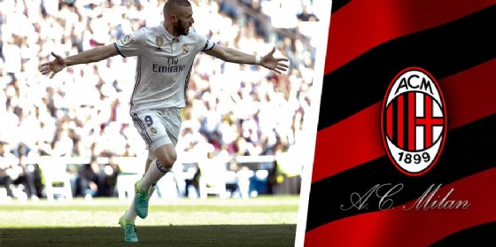 L'attaccante francese del Real Madrid Karim Benzema