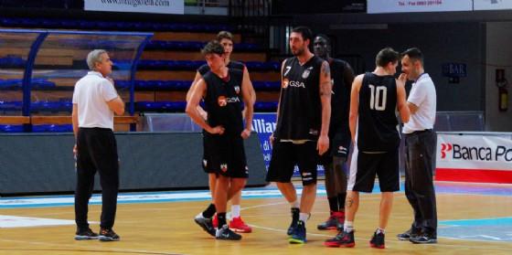 L'allenamento della Gsa Udine (© Diario di Udine)