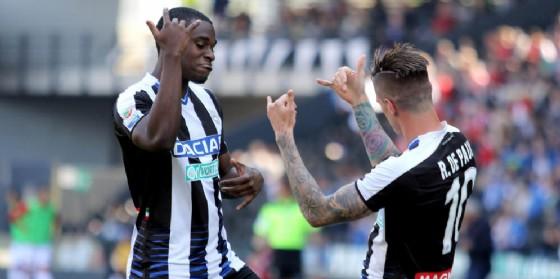 Bella vittoria dell'Udinese al Friuli (© Ansa)