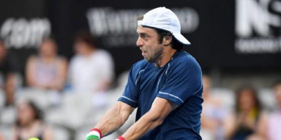 Lorenzi non fa il miracolo Italia eliminata in Coppa Davis (© ANSA)
