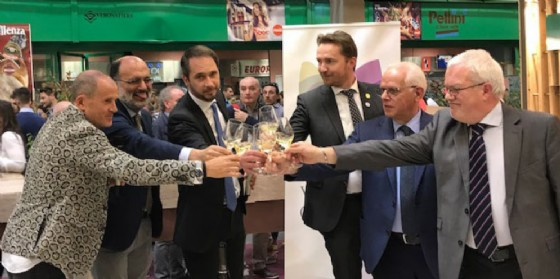 L'inaugurazione dello stand Fvg (© Regione Friuli Venezia Giulia)