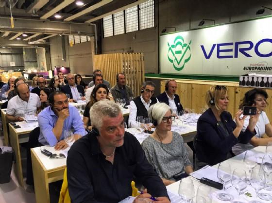 Successo per la presentazione al Vinitaly di Filari di Bolle nello stand Ersa (© Filari di Bolle)