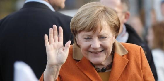 La cancelliera tedesca Angela Merkel. (© ANSA/ EPA RONALD WITTEK)