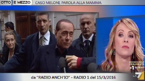 Per Giorgia Meloni l'alleanza con Forza Italia è cosa fatta, dopo l'incontro di ieri ad Arcore con Silvio Berlusconi (© ANSA | Fermo immagine LA7)