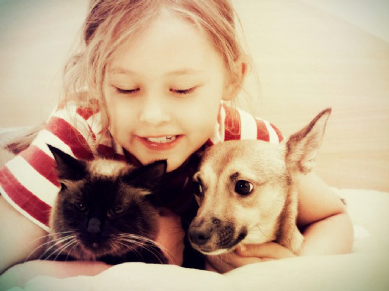 Animali domestici e bambini (© Happy Monkey | Shutterstock)