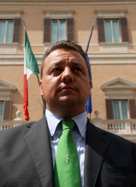 Giovanni Fava, assessore all'Agricoltura in Lombardia e sfidante di Matteo Salvini alle primarie del 14 maggio per scegliere il segretario della Lega Nord (© ANSA / MAURO DONATO)