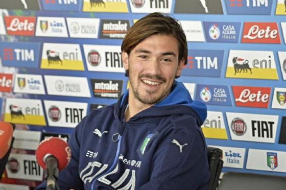 Il difensore del Milan e della Nazionale Romagnoli (© Ansa)