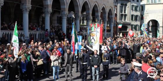 Le celebrazioni del 25 aprile (© Diario di Udine)