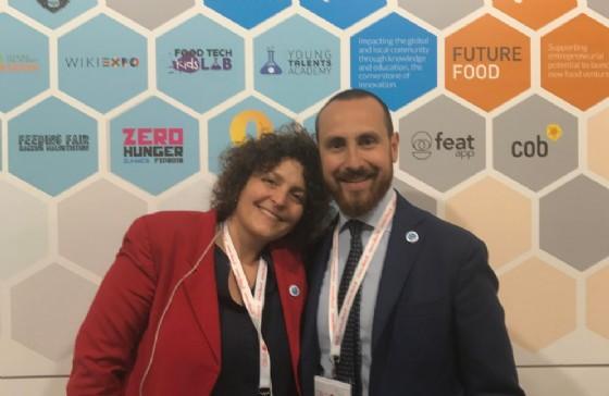 Sara Roversi e Antonio Perdichizzi