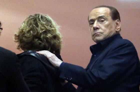 Il leader di Forza Italia Silvio Berlusconi (© ANSA / MATTEO BAZZI)