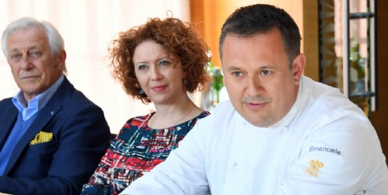 Lo chef Emanuele Scarello (© Foto Petrussi)