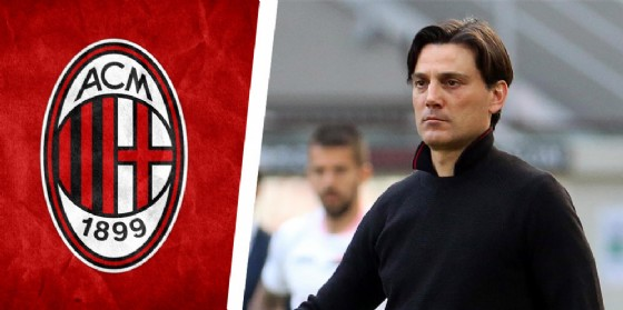 L'allenatore del Milan Vincenzo Montella (© Ansa)