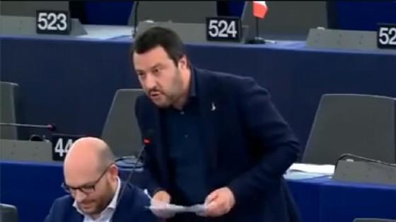 Il discorso di Salvini