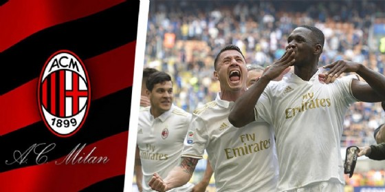 Zapata esulta dopo il gol del pareggio nel derby