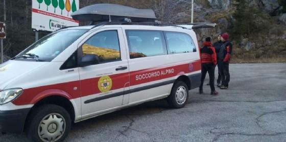 Intervento del Cnsas a Barcis (© Diario di Udine)
