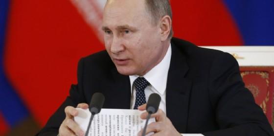 Il presidente russo Vladimir Putin. (© PA/SERGEI KARPUKHIN / POOL)