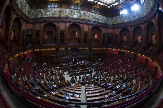 La Camera dei deputati (© ANSA/ANGELO CARCONI)